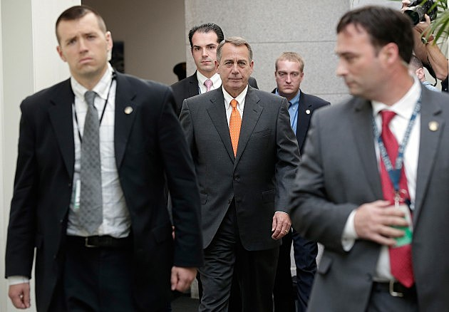 Negotiations Continue On Capitol Hill One Day Before Debt Limit Deadline