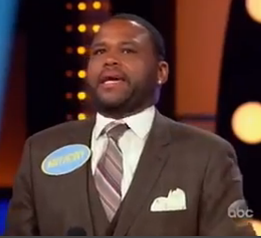 Anthony Anderson's Mom on 'Family Feud' - Mandatory