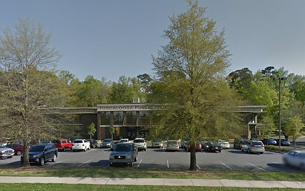 Tuscaloosa Public Library (Photo credit: Google)