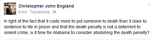 (Screenshot from England's Facebook page)