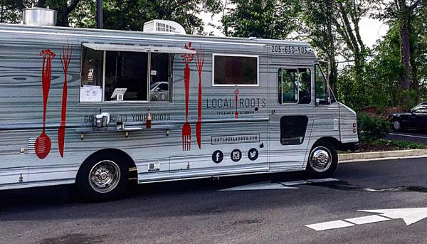 Roots Food Truck Tuscaloosa