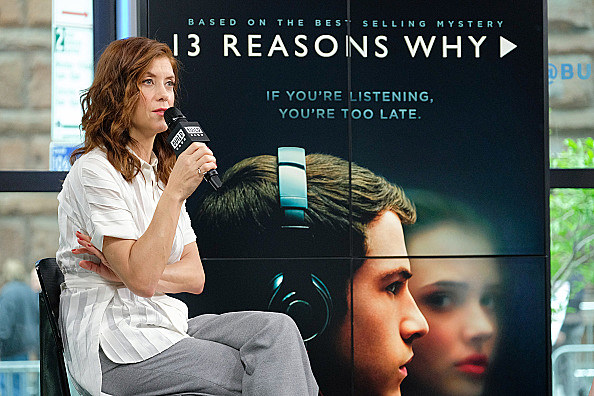 "Build Presents Kate Walsh Discussing The Show ""13 Reasons Why"""