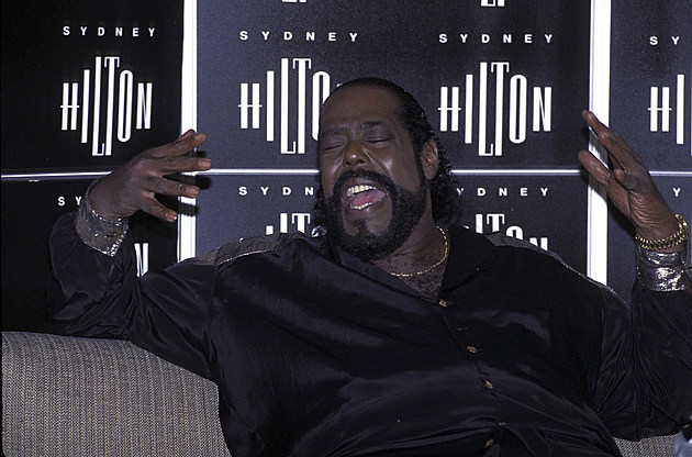 Barry White Press Conference In Sydney